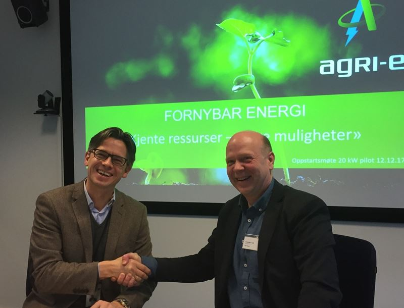Cooperation agreement between Prototech and Agri-e